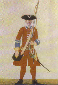 Danish Infantry Uniforms 1700 1730