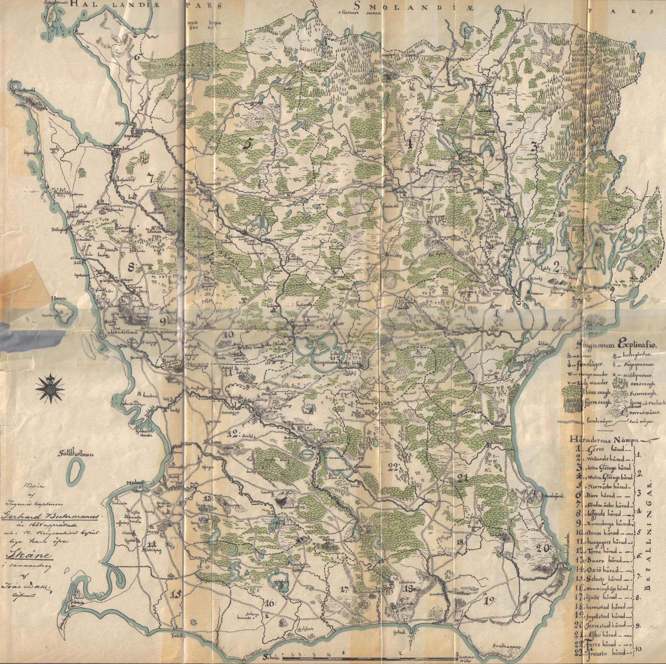 Karta Skane Och Danmark.Kriget I Skane 1709 1710 Slaget Vid Helsingborg